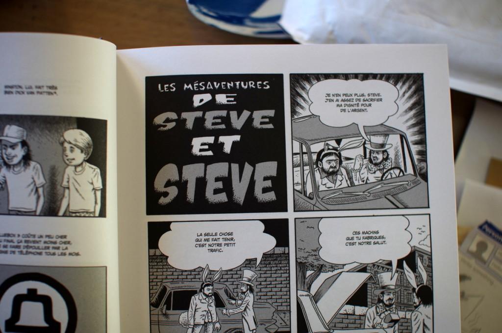 Les mésaventures de Steve et Steve